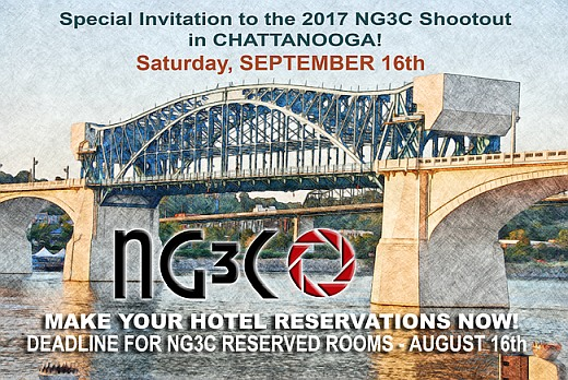 2017-NG3C ShootOut Chattanooga Hotels Message